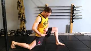 How To Stretch & Loosen Your Hips To Increase Your Kicking Speed & Stride Length - by Eric Gerber