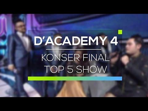 Highlight D'Academy 4 - Konser Final Top 5 Show