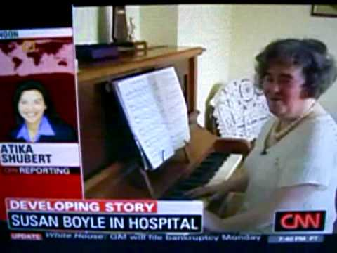 Susan Boyle committed to mental hospital