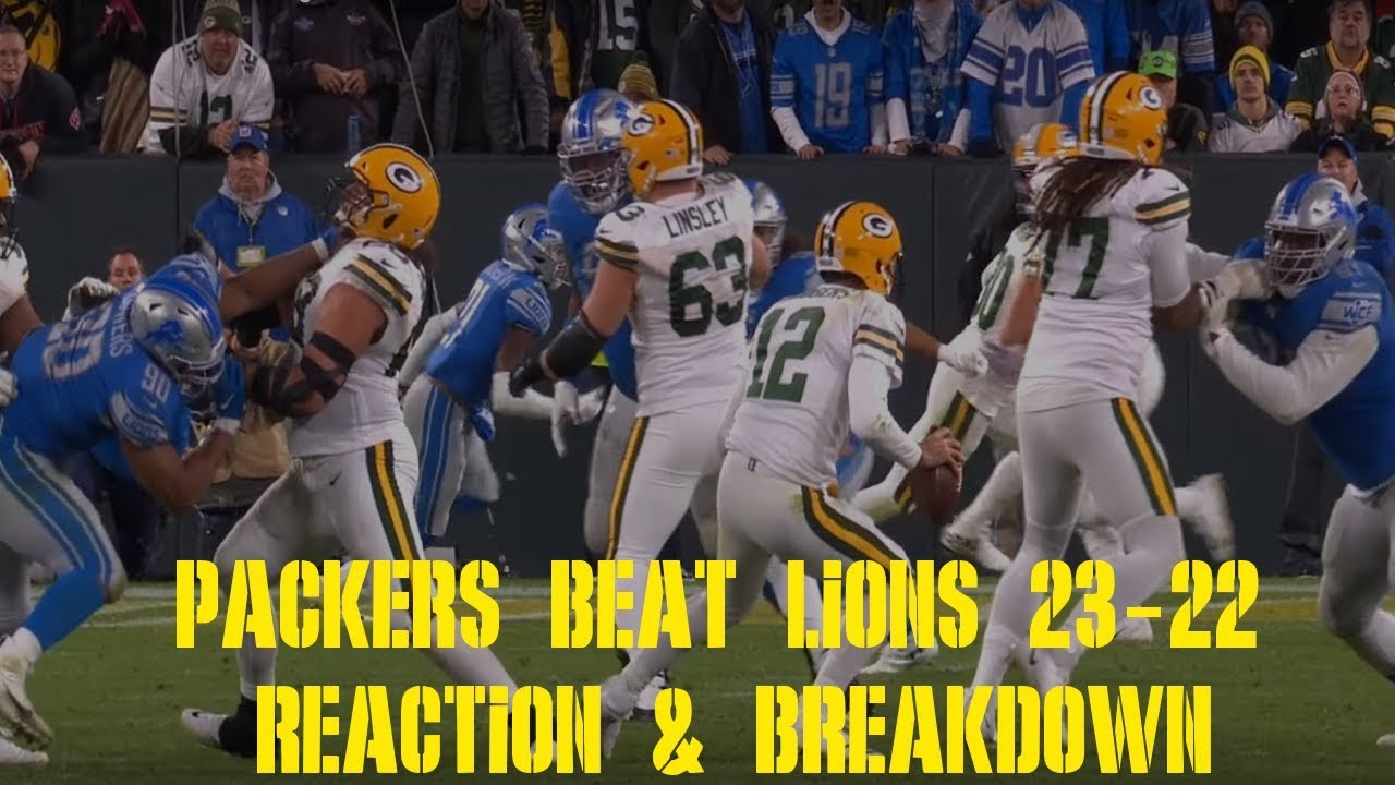 Lions vs. Packers: What Just Happened?