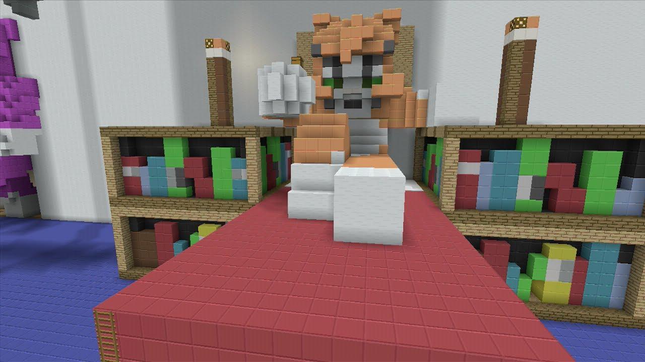Minecraft (Xbox360) - Stampy's Bedroom - Hunger Games ...