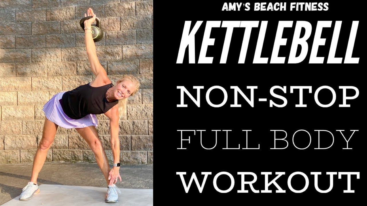 Full Body Non-Stop Kettlebell Workout - 20 MIN