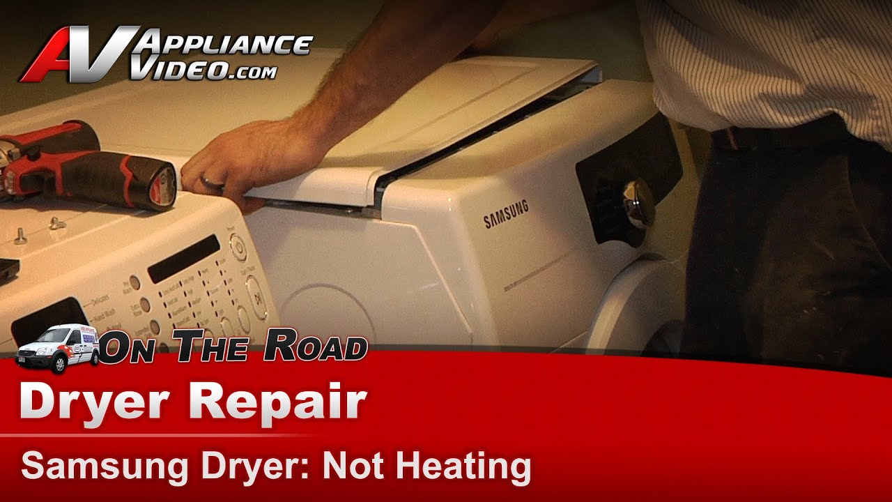 Samsung Dryer Diagnostic Repair & Diagnostic - Not Heating or drying clothes
