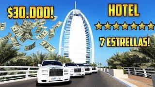 HOTEL 7 ESTRELLAS EN DUBAI : BURJ AL ARAB