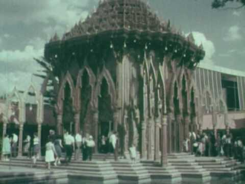 "(5/6) RARE 1964 NBC COLOR TV SPECIAL - ""A World's Fair Diary"" with Edwin Newman"