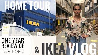 ONE YEAR REVIEW OF IKEA HOME   IKEA BUDGET HOME TOUR   IKEA VLOG