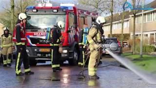 Brommer brandt uit in Noorderpark Assen