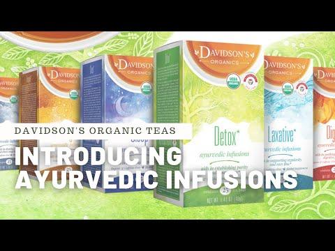 """Introducing Davidson's """"Ayurvedic Infusions"""""""