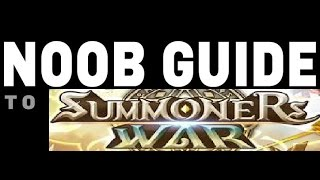 New Player Starting Guide for Summoners War Sky Arena - Newbie Tips and Tricks