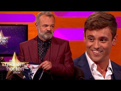 Tom Daley Discusses Danger of Dislodging From His Tiny Speedos - The Graham Norton Show