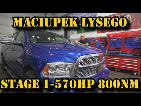 RAM 570 hp 800nm  Maciupek łysego stage 1  Czas na Tuning made in Poland +