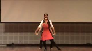 Salsa Dance Performance by Lal n Surbhi @ ADIOS 2K16