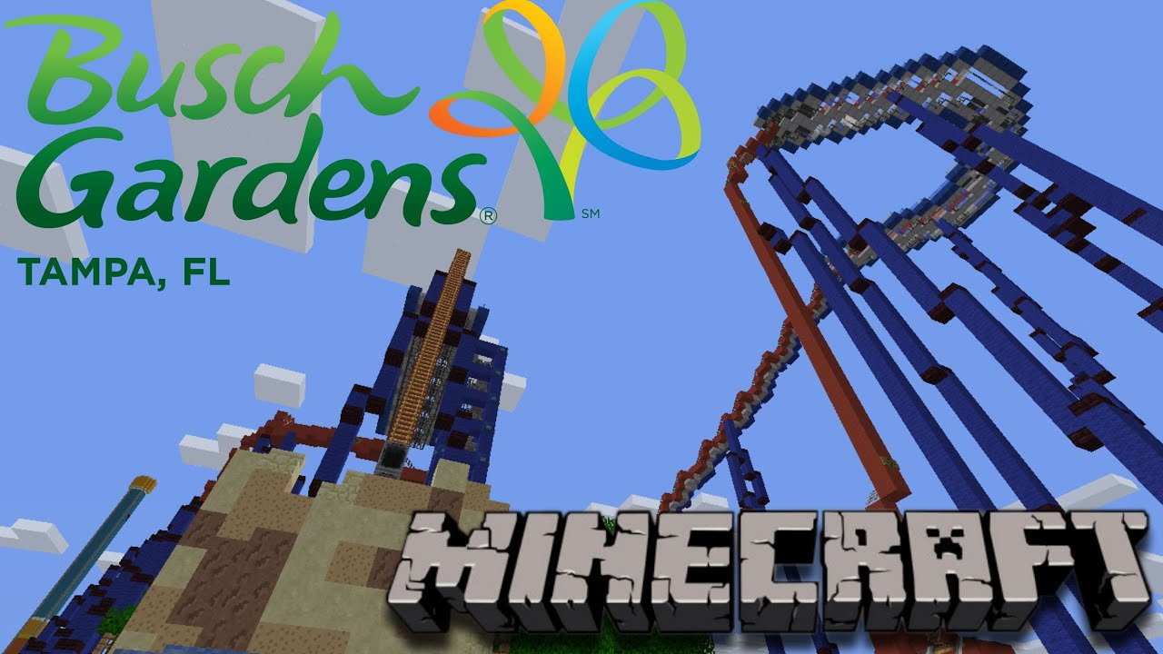 Busch Gardens Minecraft Server Youtube