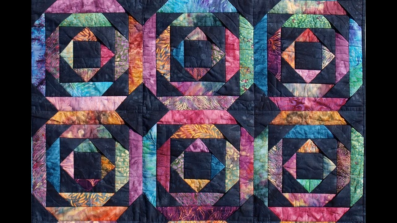 Pineapple Log Cabin quilt video by Shar Jorgenson - YouTube : quilting videos on youtube - Adamdwight.com