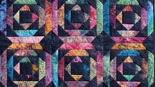 Pineapple Log Cabin Quilt Video By Shar Jorgenson
