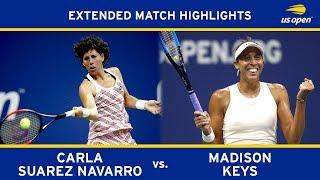 Extended Highlight: Madison Keys vs. Carla Suárez Navarro | 2018 US Open, QF