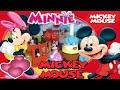 El viaje en tren Lego con Mickey y Minnie