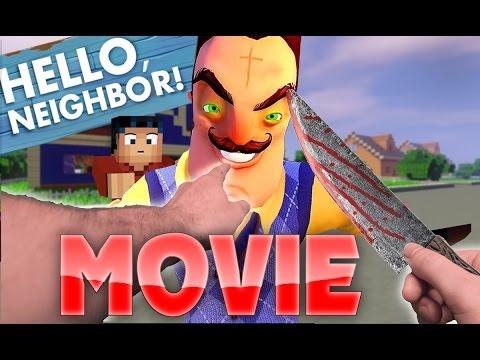 Minecraft Realistic : Hello Neighbor MOVIE - Everything we know so far.