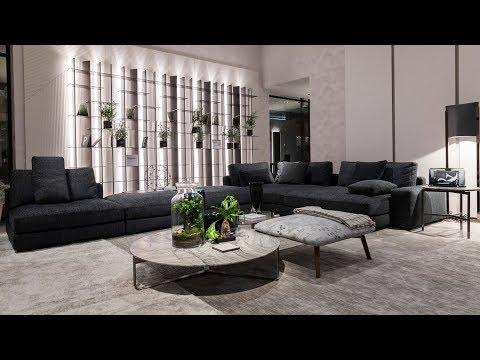 Flou. Итальянская мебель, кровати, шкафы, аксессуары. ISaloni 2019