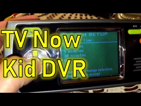Vintage Toys: Hasbro/Tiger Kids Personal DVR TV Now!