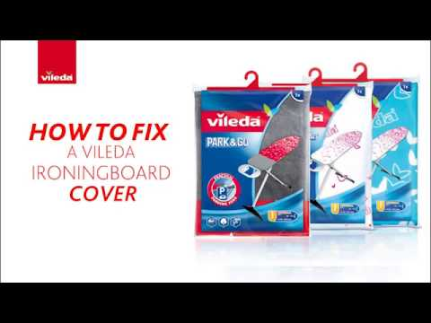 Vileda Ironing Board Cover Instructions