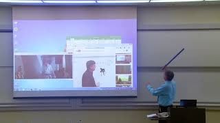 Math Professor Fixes Projector Screen April Fools Prank