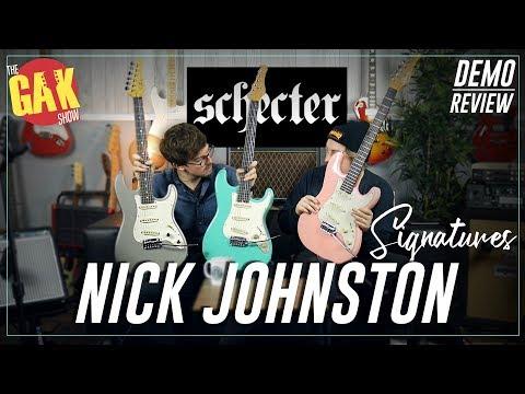 NEW Nick Johnston Schecters!