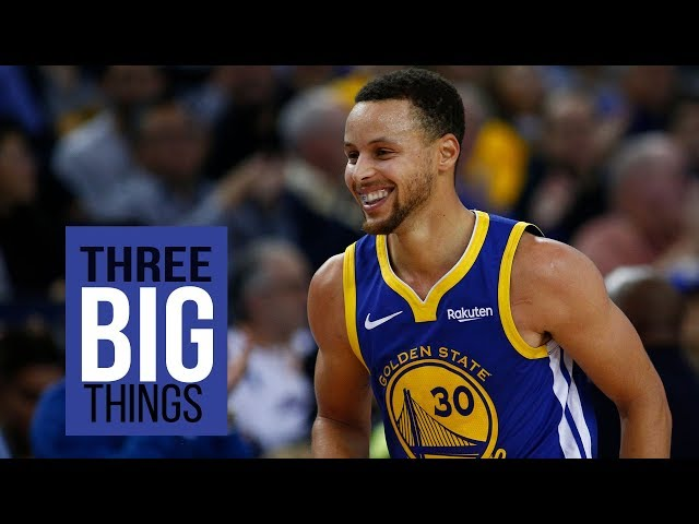 3 BIG THINGS: Warriors Stephen Curry playing like a MVP and Draymonds return