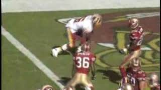 Redskins Vs 49ers Week 7 2005 Highlights