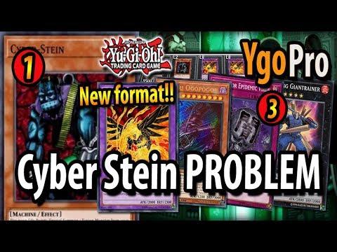 """Cyber Stein Problem - """"Dear Konami, why?"""" (3 negates NOT ENOUGH...)"""