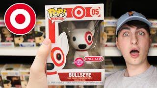 Flocked Bullseye Funko Pop Hunting   That Was Easy!
