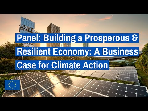Panel 3: Building a Prosperous & Resilient Economy: A Business Case for Climate Action