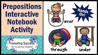 Prepositions for Kids in Grade 1 2 3 ESL English Grammar - By Promoting Success