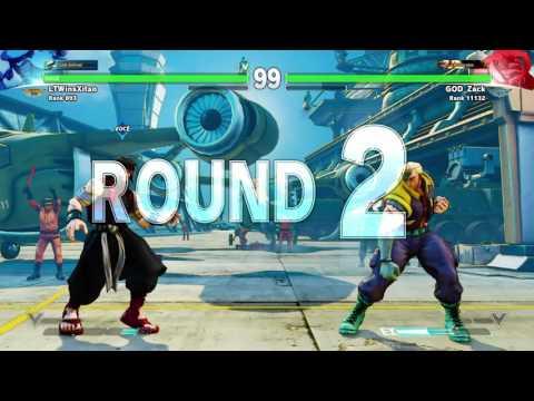 STREET FIGHTER V LTWins Xitao Rashid vs God Zack Nash
