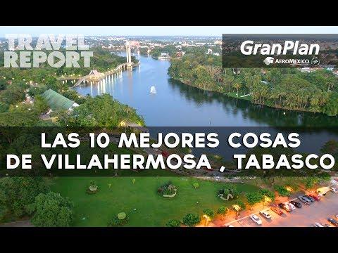 10 imperdibles para primerizos en la ciudad de Villahermosa, Tabasco