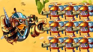 Angry Birds Epic - Use All Star Cannoneer Class (Bomb Bird) Win Event Raiding Party