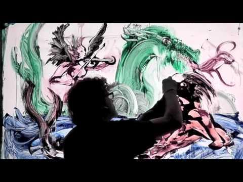 lili haydn children of babylon wisdom painting