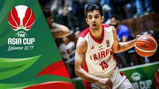 Iran v Korea - Highlights - Semi-Final - FIBA Asia Cup 2017