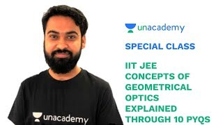 Special Class - IIT JEE - Concepts of Geometrical Optics explained through 10 PYQs - Udit Gupta