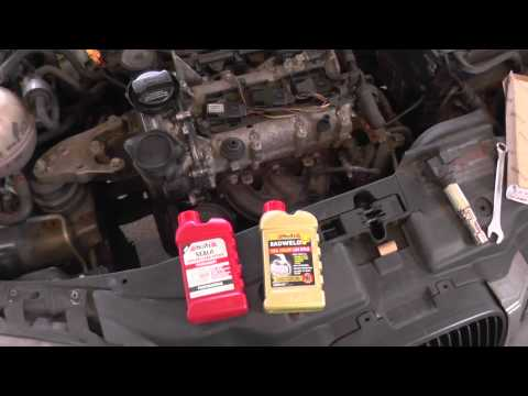 Holts SEALit vs Radweld Plus Both tested on Freelander Head Gasket Leak RESULTS