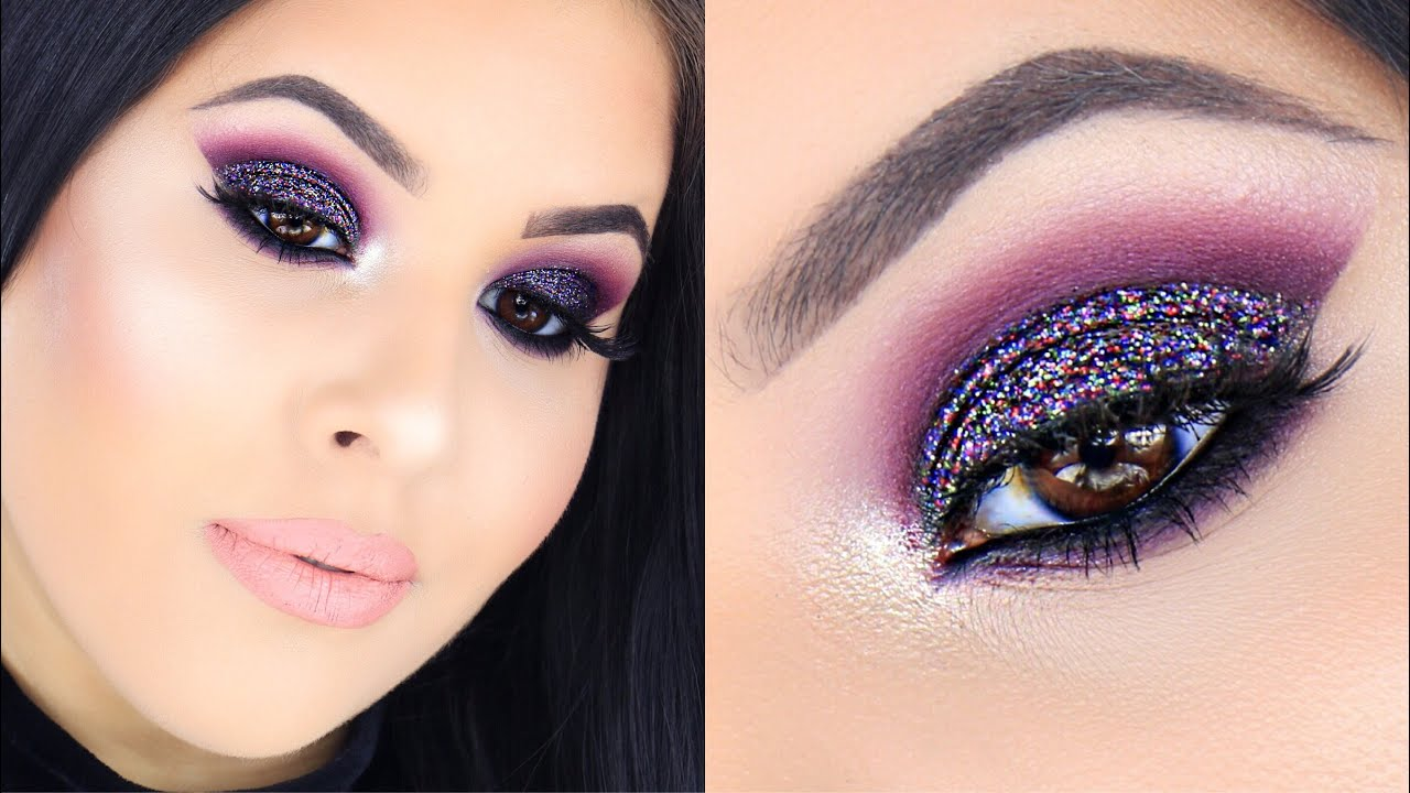 New Yearu0026#39;s Eve Party Makeup Tutorial 2015 | Nelly Toledo - YouTube