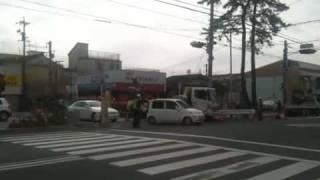 南栄駅の前で工事中 03/14/2010 05:18pm PST