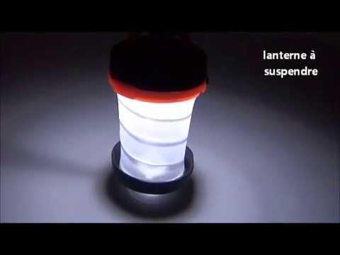 Lp342 Lampe De Camping Lanterne Youtube