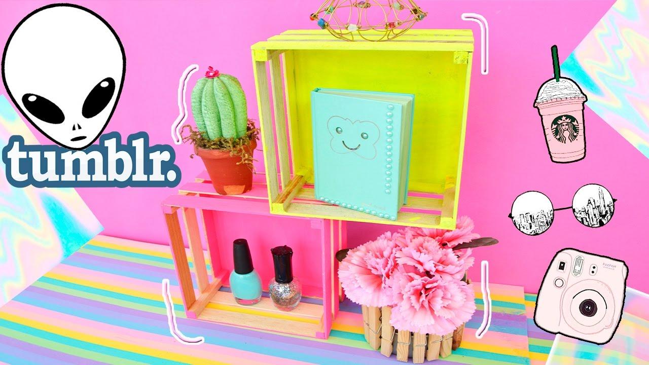 Decora tu habitacion estilo tumblr youtube for Cuarto estilo tumblr