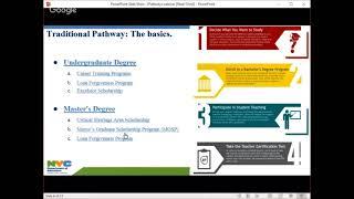 NYC DOE Teaching Pathways Webinar