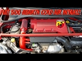 Fiat 500 Abarth Sila Concepts Cold Air Intake (Before & After)
