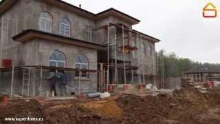 Авторский надзор за строительством коттеджа в средиземноморском стиле(, 2015-10-09T10:55:01.000Z)