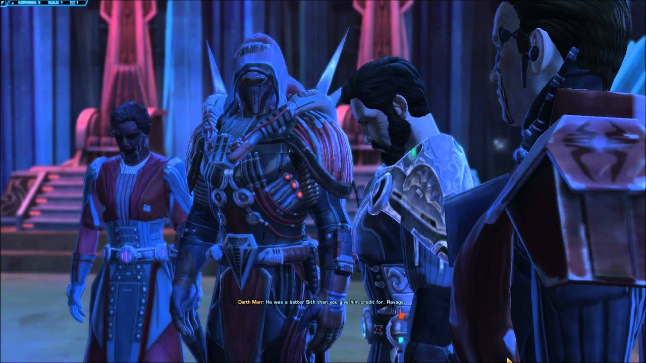 star wars the old republic sith inquisitor light side