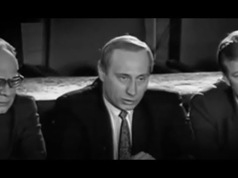 Download Youtube: Early Putin in black & white - rare footage
