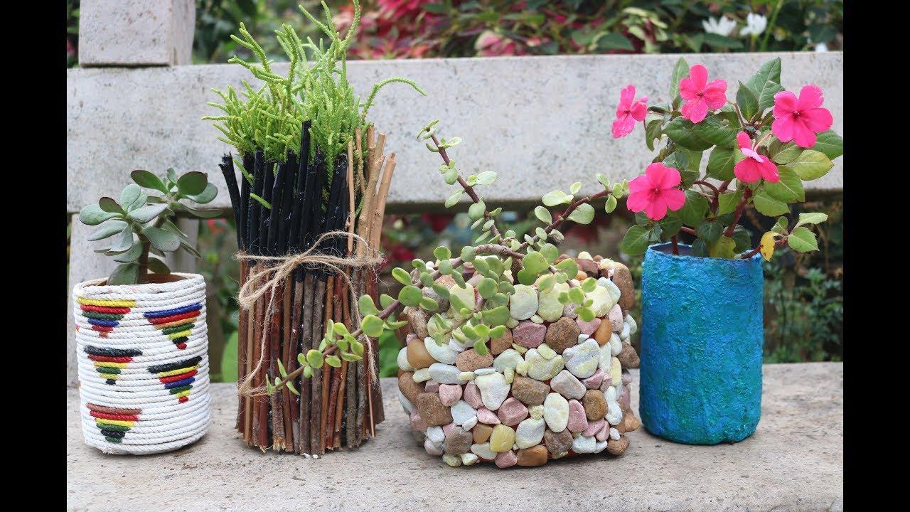 4 Amazing Planter Ideas From Waste Plastic Bottles Unique Planter